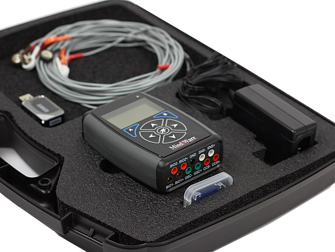 MindWare physiology recording device