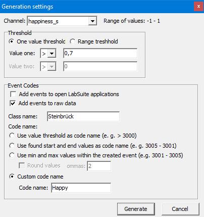 Behavior coding with INTERACT