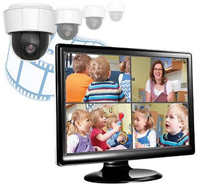 Monitor with Mangold VideoSyncPro application