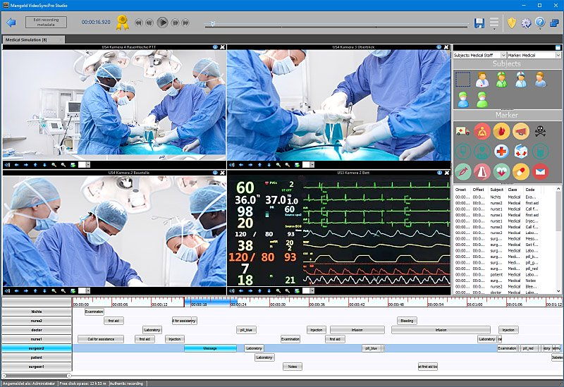 Medical simulatioin software